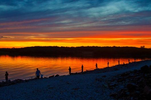 Kansas fishing. Photo by Kansas Poetry (Patrick)