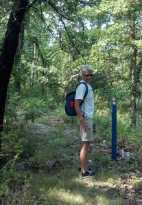 Marci Penner on the trail