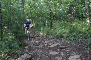Shawnee Mission Park trails