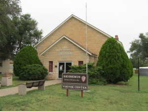 Nicodemus Visitor's Center. Photo by Mark Conard