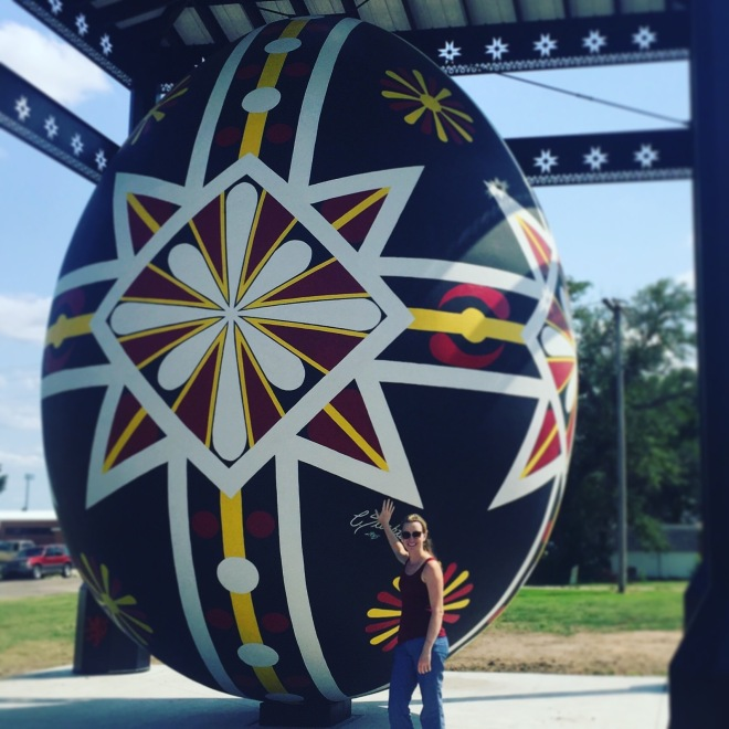 Kristin by the Czech Egg in Wilson