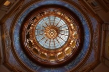 The dome from the first floor